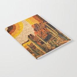 DESERT RAINBOW Notebook