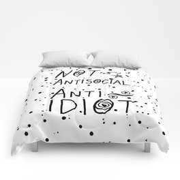 NOT Anti-Social Anti-Idiot Comforters