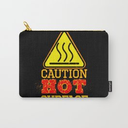 Hot Surface Sign , Warning sign , Caution Sign Carry-All Pouch
