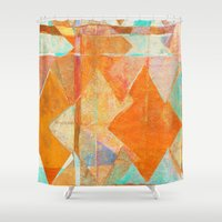merry christmas Shower Curtains featuring Merry Christmas by Fernando Vieira