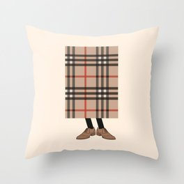 Check out Mr. Check Throw Pillow