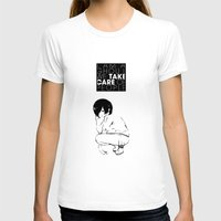 tokyo ghoul T-shirts featuring I am a Ghoul  by Touko Rabbit