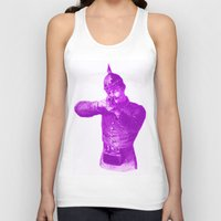 soldier Tank Tops featuring Pink Soldier by Connor Resnick