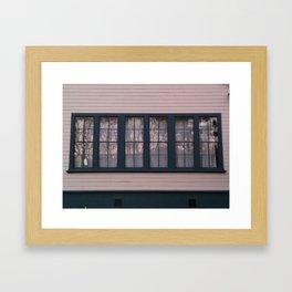 School Life II Framed Art Print
