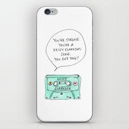 Kelly Song Queer Eye JVN Quote iPhone Skin