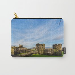 Caerphill Castle Panorama Carry-All Pouch