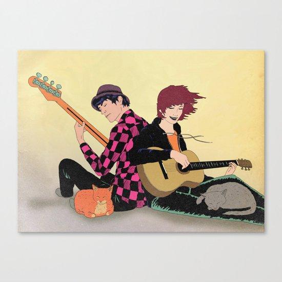 Making Beautiful Music Canvas Print