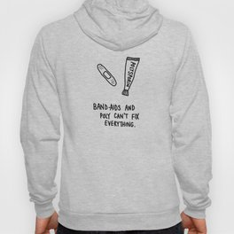 band-aids and poly Hoody