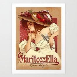 Maritozzella Art Print
