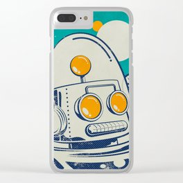 Robot #1 Clear iPhone Case