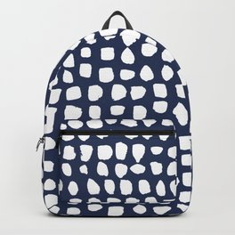 Dots (Navy) Backpack
