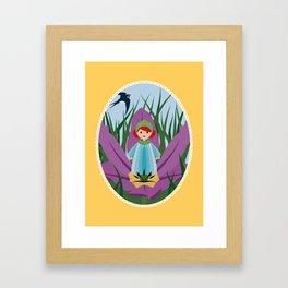 Thumbellina Framed Art Print