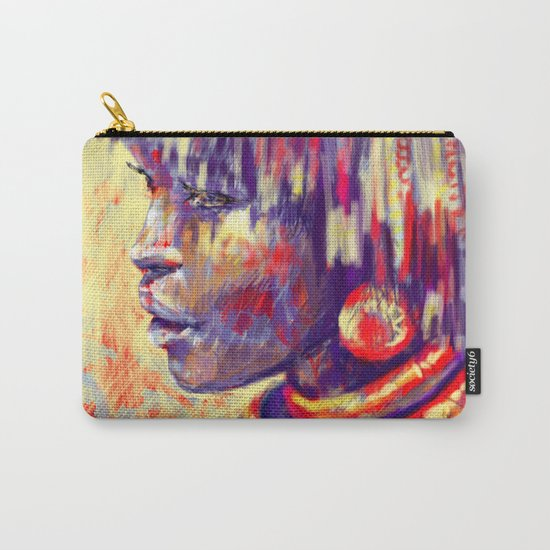 African portrait Carry-All Pouch