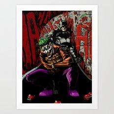 Laughing In The Dark Art Print