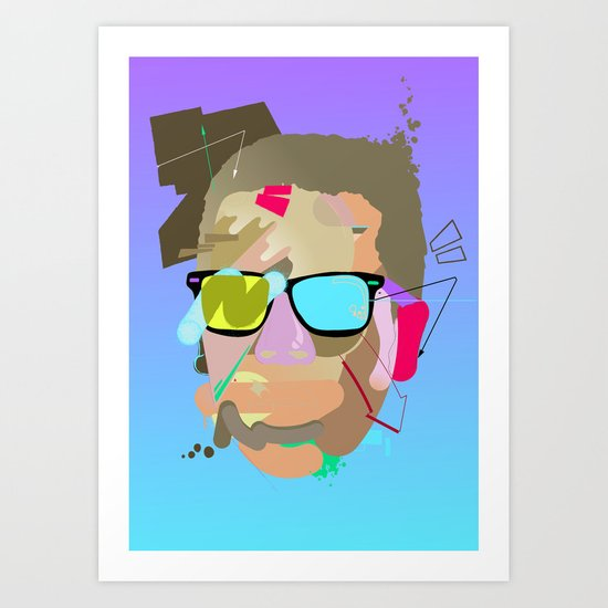 Dondi. Art Print