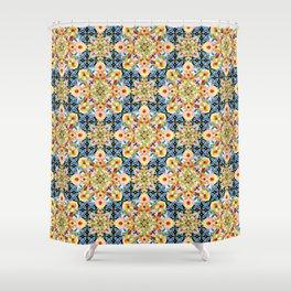 Elizabethan Pastel Mandala Shower Curtain
