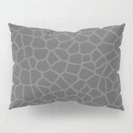 Staklo (Gray on Gray) Pillow Sham