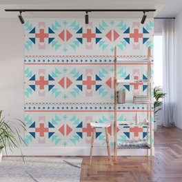 geometry navajo pattern Wall Mural