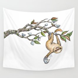 Slow Tea Wall Tapestry