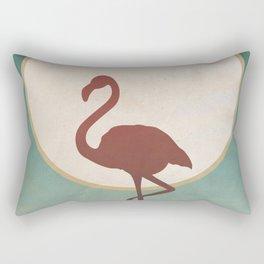 Flamingo Nights Summer Rectangular Pillow