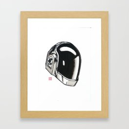 Daft Punk Guy-Manuel de Homem-Christo Framed Art Print