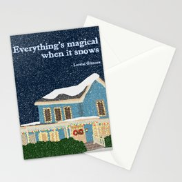 Gilmore girls house Stationery Cards