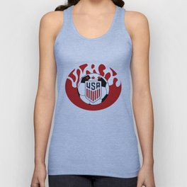 United States Soccer Unisex Tank Top