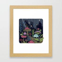 Toadstool Framed Art Print
