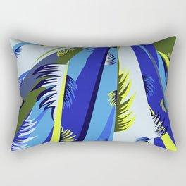 Forest Leaves Rectangular Pillow