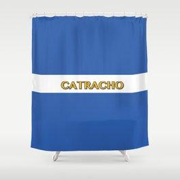 Catracho - Honduras Flag Shower Curtain