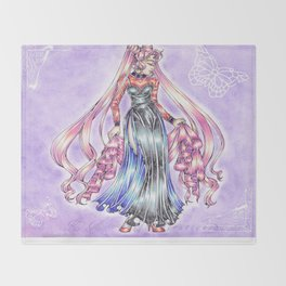 Wicked Lady Throw Blanket