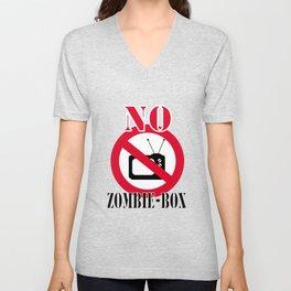 No zombie-box Unisex V-Neck