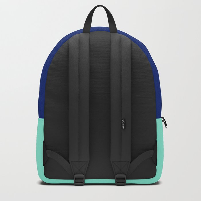 Tropical Navy Backpack
