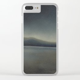 Marsh Lights Clear iPhone Case