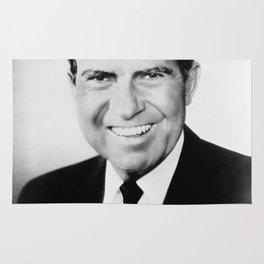 Portrait of Richard Nixon Rug