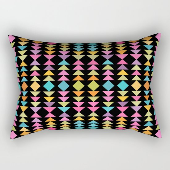 Lovely geometric Pattern VVII Rectangular Pillow