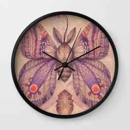 Entomology Tab. VI Wall Clock