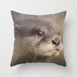 Otterly gorgeous!! Throw Pillow