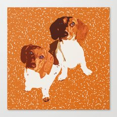 Nothing Rhymes with Orange Canvas Print
