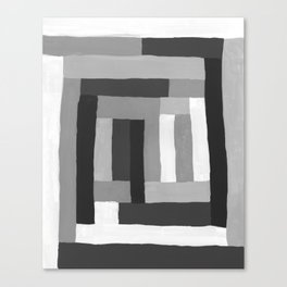 Painted Color Blocks Canvas Print