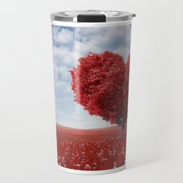 Tree heart Travel Mug