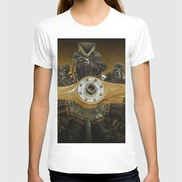 Airplane Propeller of a Fairchild PT-23 Cornell Monoplane T-shirt
