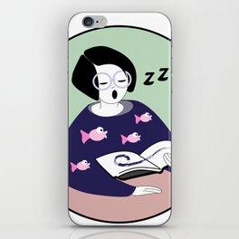 smart lazy iPhone Skin