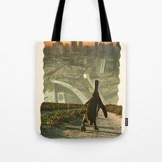 Penguin City Tote Bag
