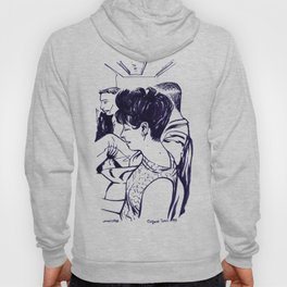 Lady in waiting.  Hoody