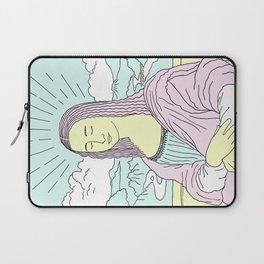 Mona Lisa Pop Laptop Sleeve