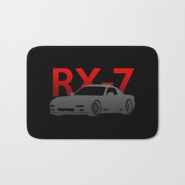 Mazda RX-7 Bath Mat