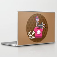 rockabilly Laptop & iPad Skins featuring  rockabilly love by Kopfzirkus