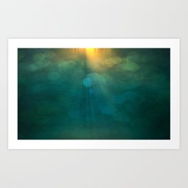 Abstract Background 318 Art Print