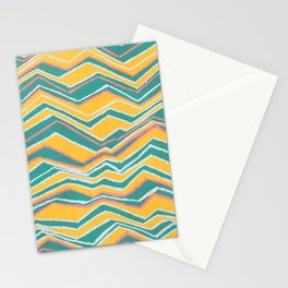 Landscape retro Stationery Cards